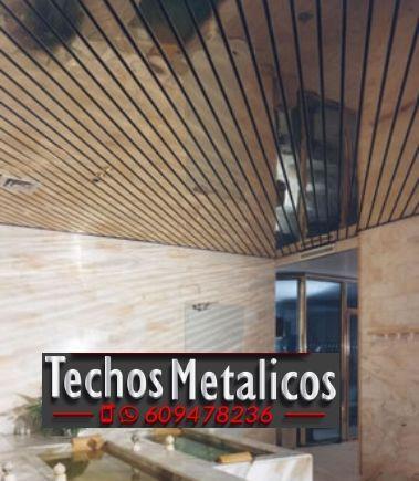 Fabricantes de techos de aluminio en Aldaya