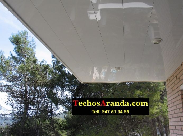 Fabricantes de techos de aluminio en Borriana