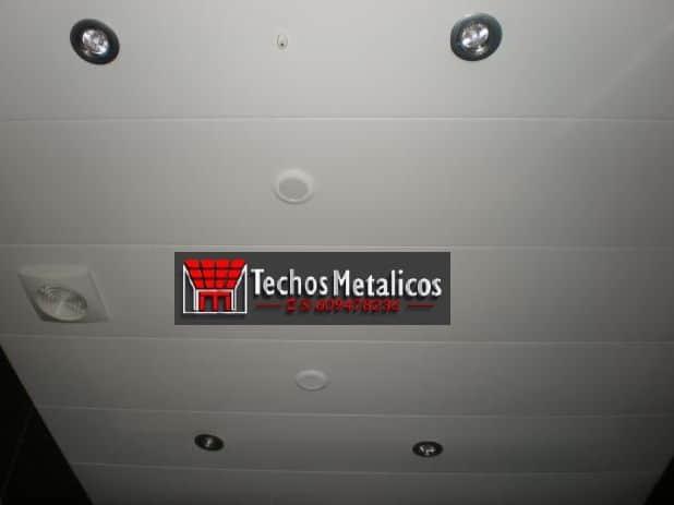 Fabricantes de techos de aluminio en Camas