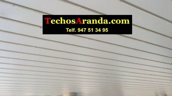Fabricantes de techos de aluminio en Canals