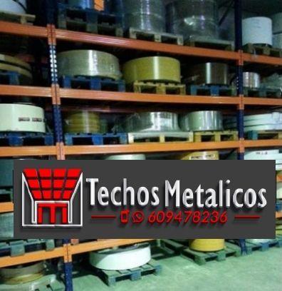 Fabricantes de techos de aluminio en Castelló De La Plana