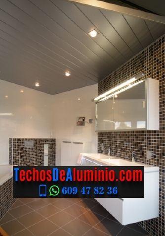 Fabricantes de techos de aluminio en Chirivella