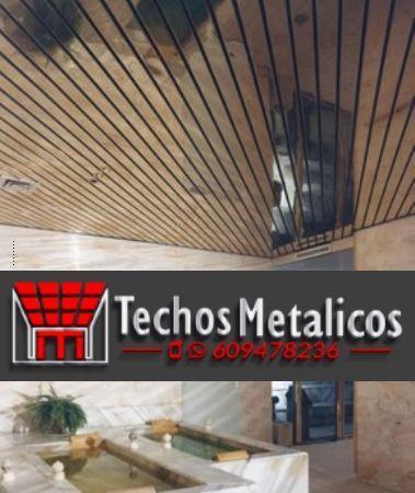 Fabricantes de techos de aluminio en El Ejido