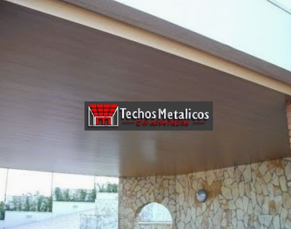 Fabricantes de techos de aluminio en Espartinas