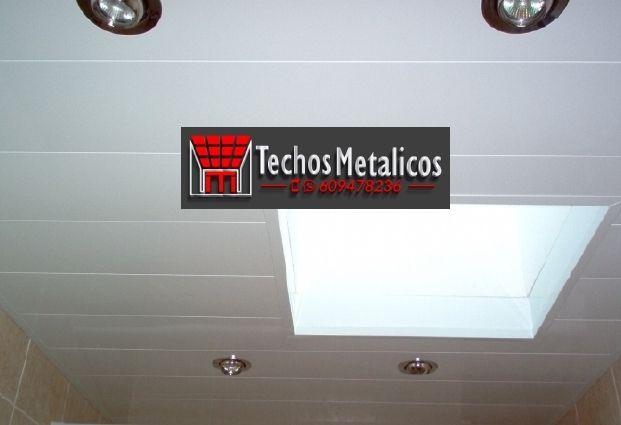 Fabricantes de techos de aluminio en Getafe