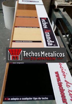 Fabricantes de techos de aluminio en Lebrija