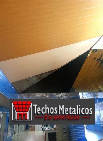 Fabricantes de techos de aluminio en Manises
