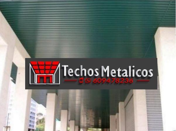 Fabricantes de techos de aluminio en Mora