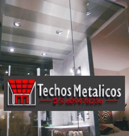 Fabricantes de techos de aluminio en Morón De La Frontera