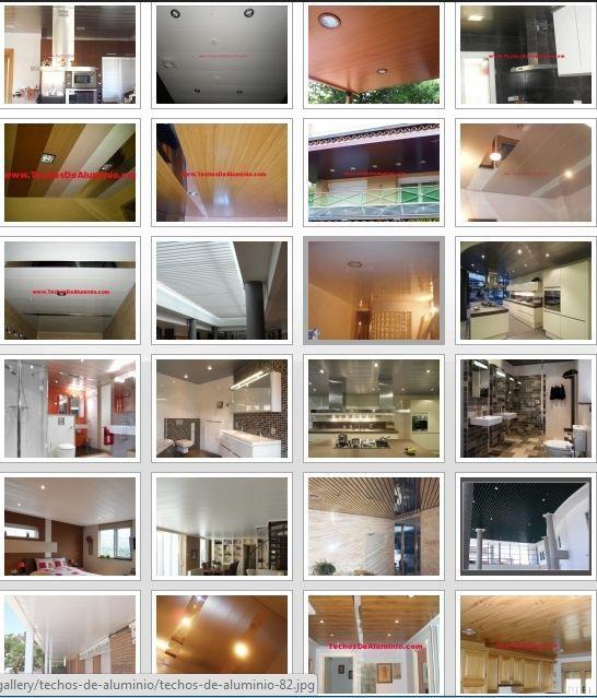 Fabricantes de techos de aluminio en Novelda