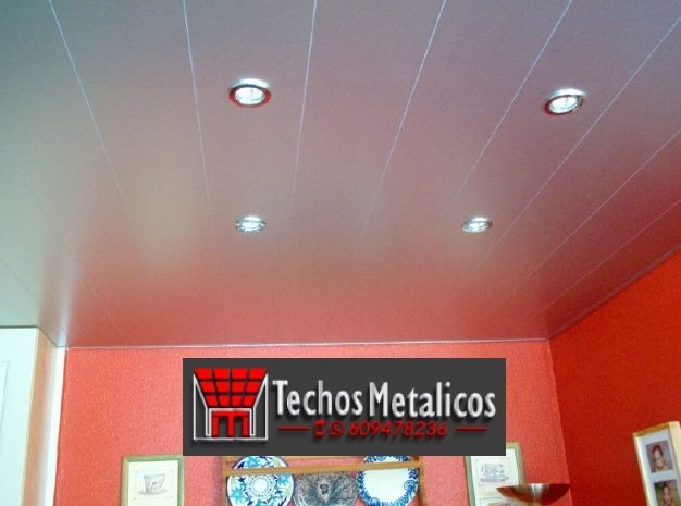 Fabricantes de techos de aluminio en Onda