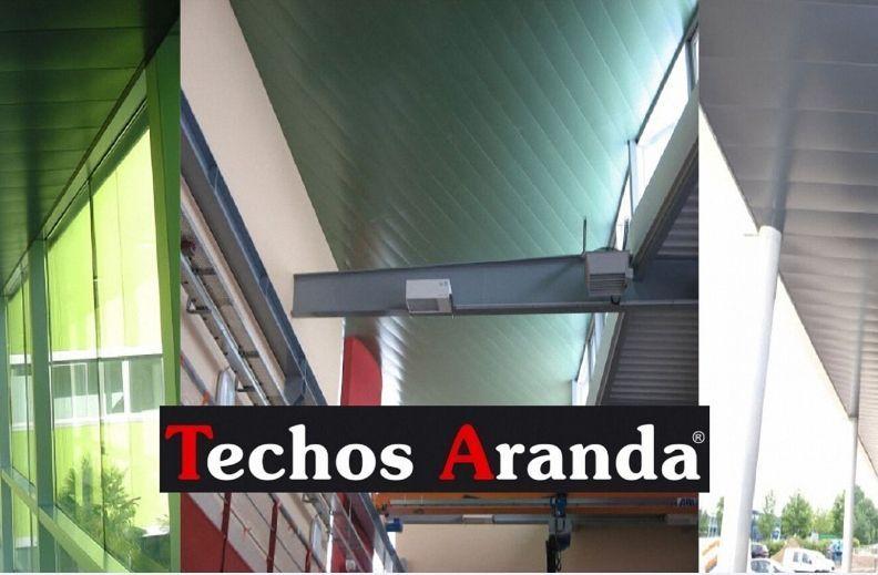 Fabricantes de techos de aluminio en Ontinyent