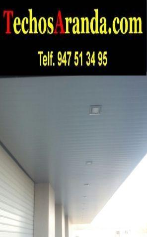 Fabricantes de techos de aluminio en Rute