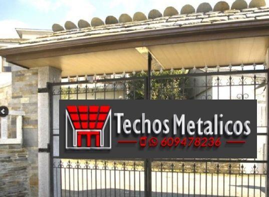 Fabricantes de techos de aluminio en Santa Eulalia Del Río