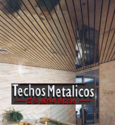 Fabricantes de techos de aluminio en Valdepeñas