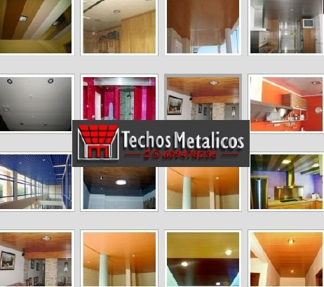 Fabricantes techos de aluminio para fachadas