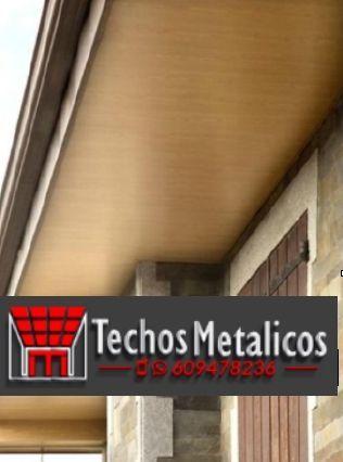 Fabricantes techos de aluminio para regeneración de edificios