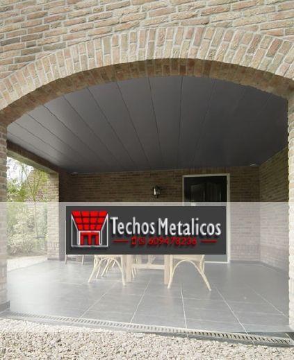 Fabricantes techos de aluminio para regeneración de fachadas