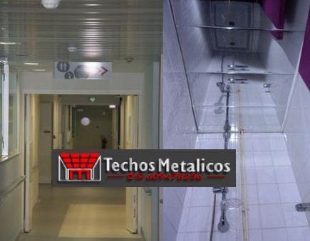 Fabricantes techos de aluminio para rehabilitación
