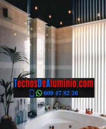 Techo de aluminio Benicasim