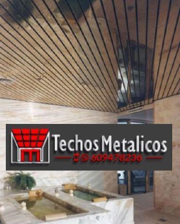 Techo de aluminio Caldas De Montbui