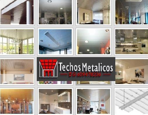 Techo de aluminio Huércal-Overa