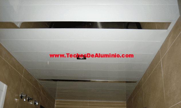 Techo de aluminio La Zubia