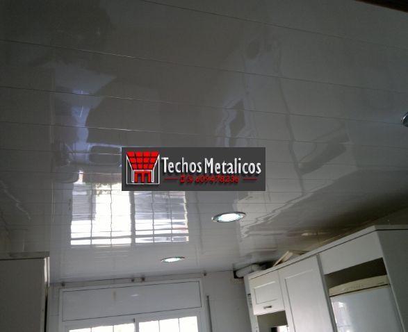 Techo de aluminio Las Gabias