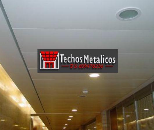 Techo de aluminio Lebrija