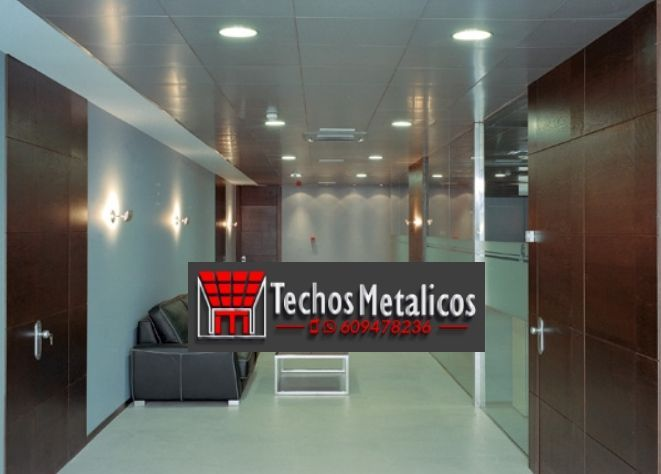 Techo de aluminio Parets