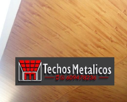 Techo de aluminio Puçol