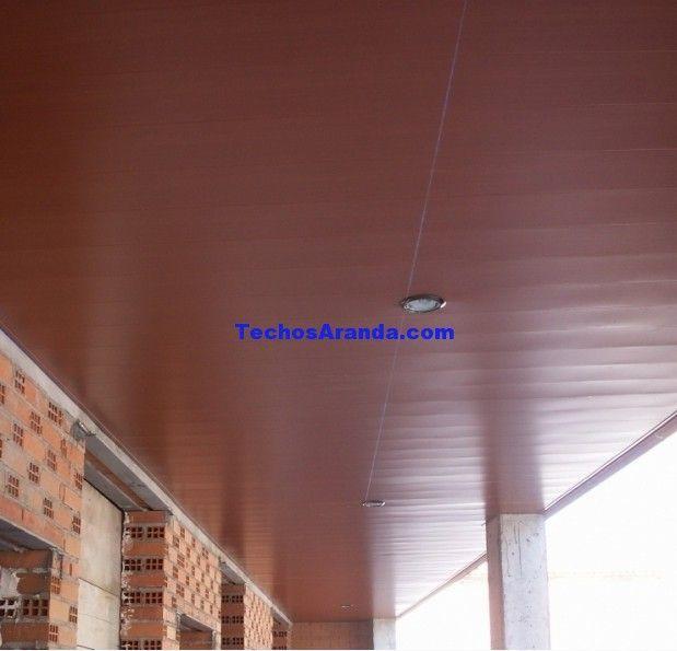 Techo de aluminio Tuy