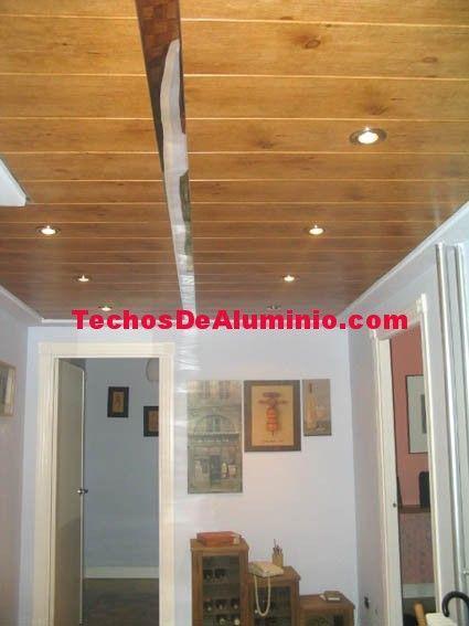 Techo de aluminio Utebo