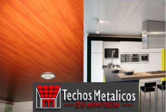 Techos de aluminio en Ahillones