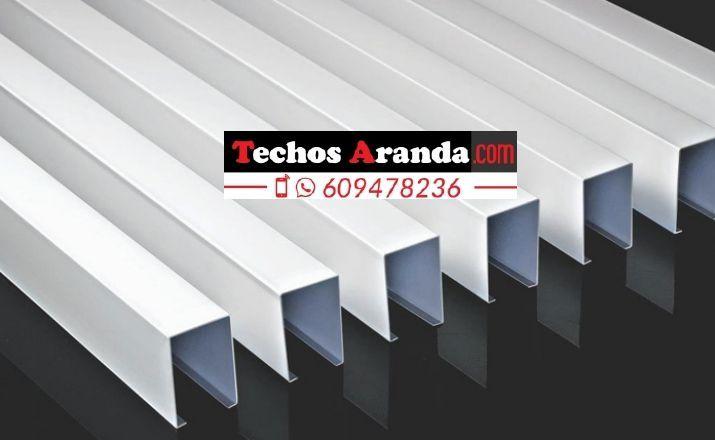 Techos de aluminio en Albánchez