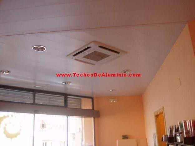 Techos de aluminio en Alcudia de Monteagud