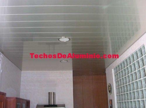 Techos de aluminio en Algueña