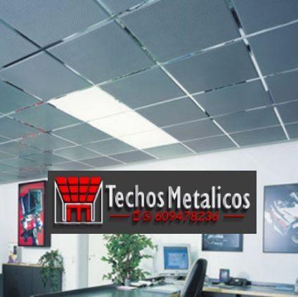 Techos de aluminio en Almendral