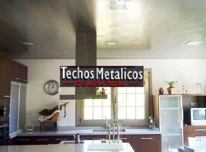 Techos de aluminio en Almócita