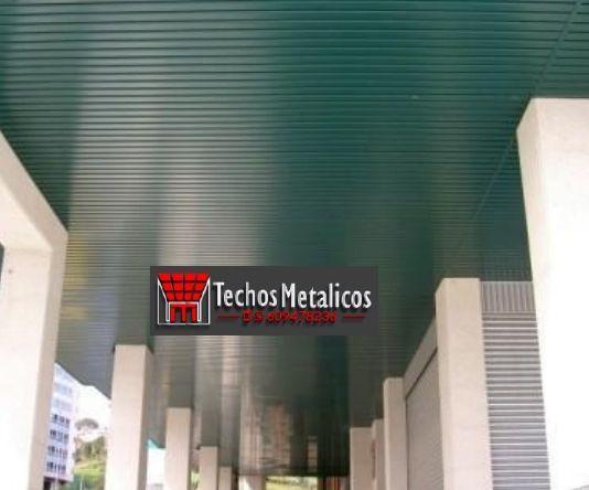 Techos de aluminio en Almudaina