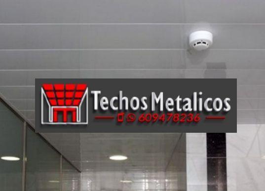 Techos de aluminio en Andújar