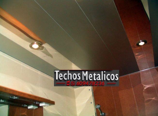 Techos de aluminio en Arenas de San Pedro
