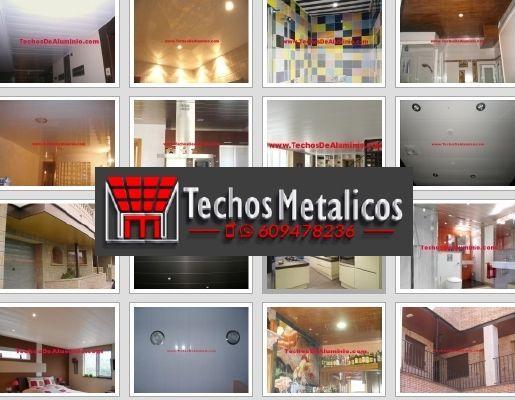 Techos de aluminio en Arevalillo