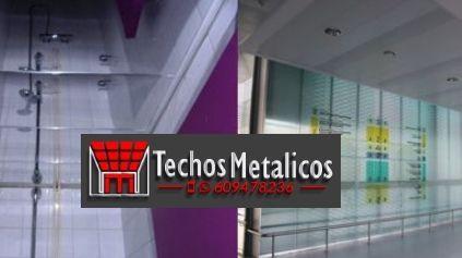 Techos de aluminio en Arroyo de San Serván