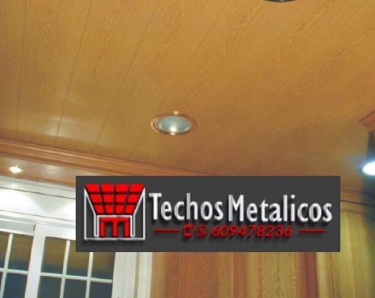 Techos de aluminio en Ayna