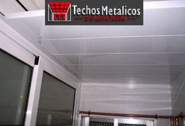 Techos de aluminio en Bacares