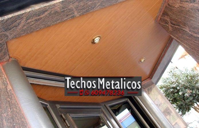 Techos de aluminio en Becedas