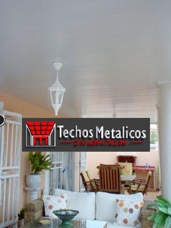 Techos de aluminio en Beires