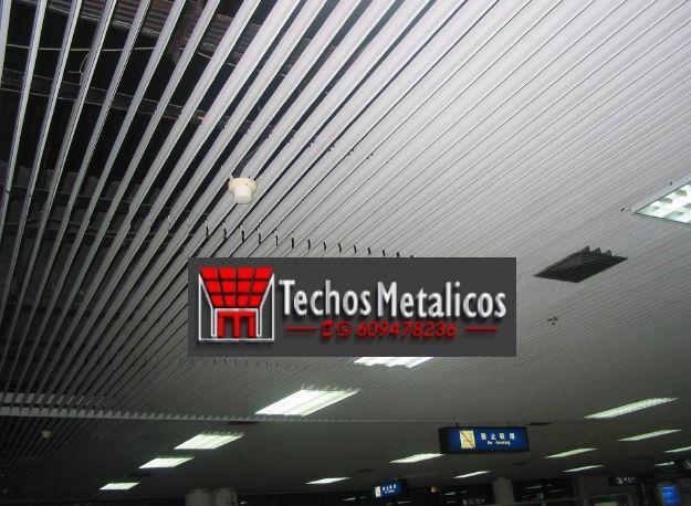 Techos de aluminio en Benejúzar