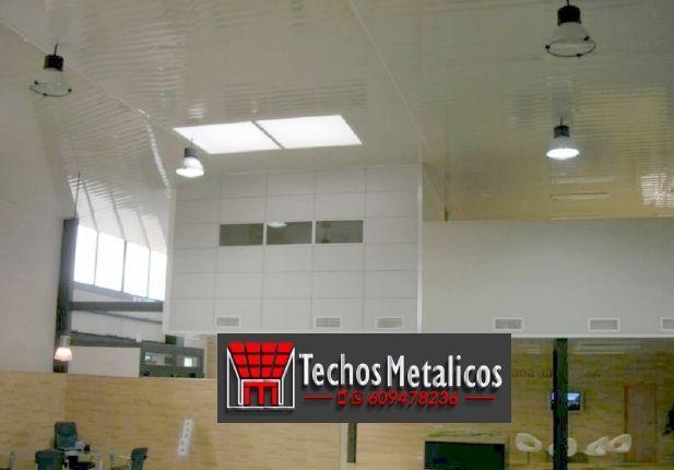 Techos de aluminio en Beniarrés